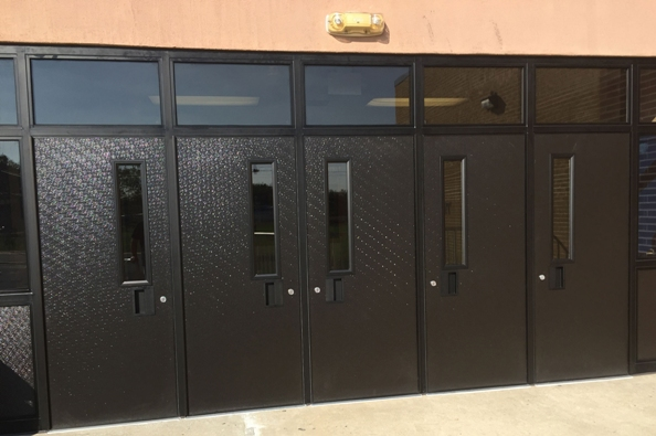 School Entrances & FRP Faced Doors | FRP Architectural Doors | Entrance Systems