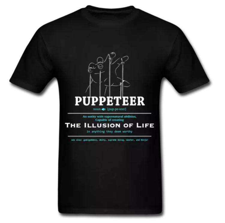 PUPPETEER T-SHIRT    $17.49