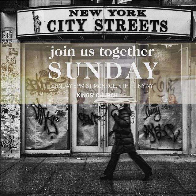 Today. 5pm. Interest Meeting.  Love to See ya.  31 Monroe Street 4th Floor New York, NY  #twobridges #jesustime