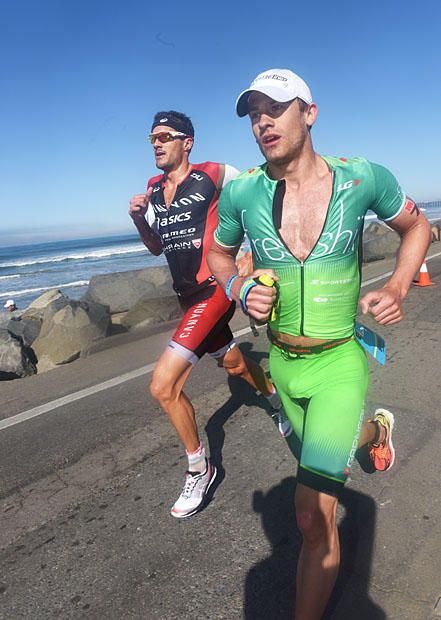 Oceanside 70.3 Running Pic from Slowtwitch