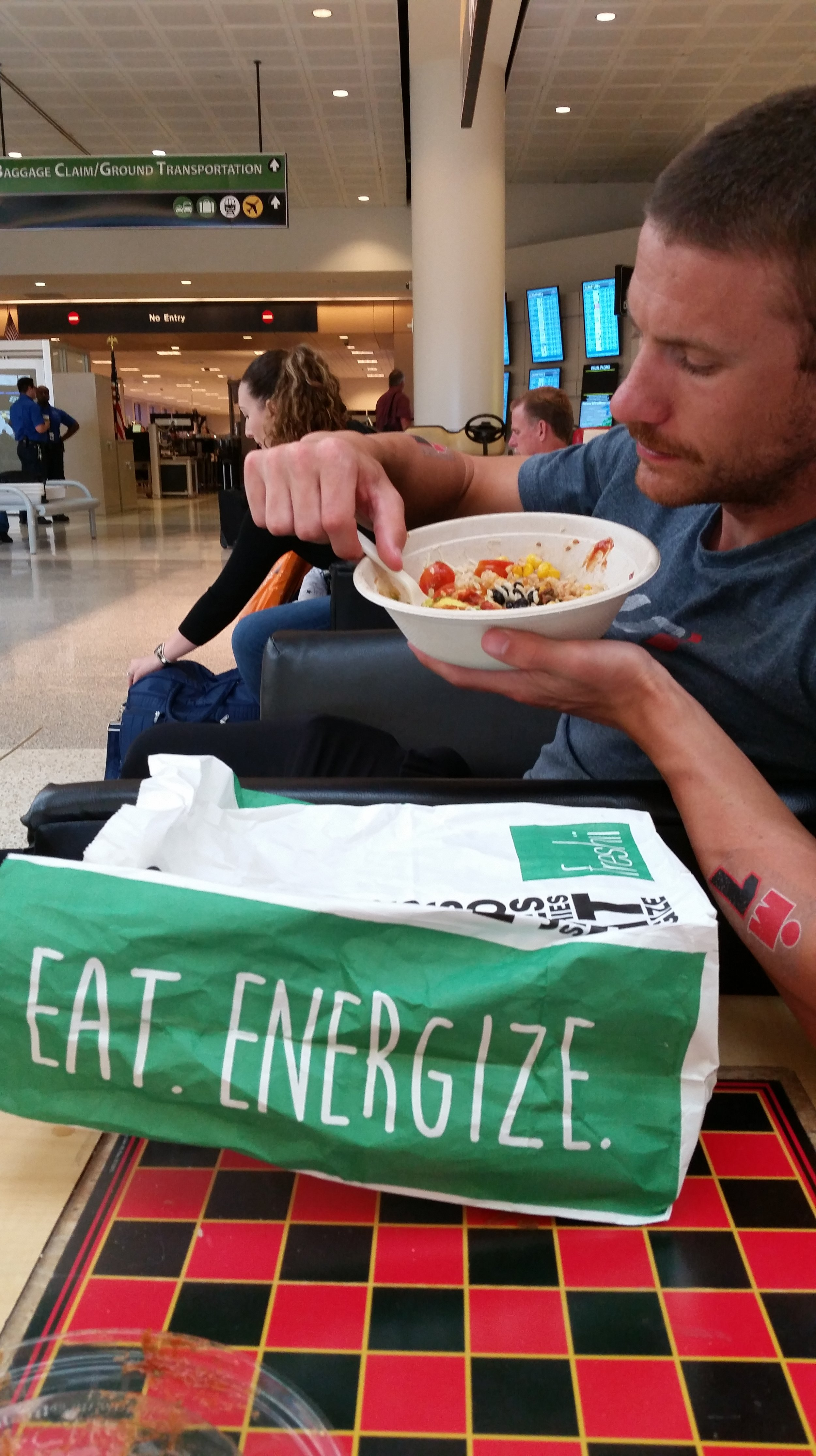 Post Race Fueling with Freshii