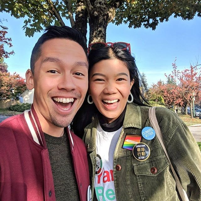 Get out and vote, Vancouver!  #vanpoli #vanelxn18