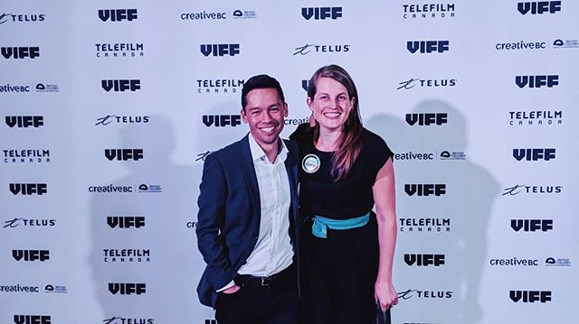 Lovely time with @christineeboyle at the @viffest closing gala. Past our bed times on the campaign trial but worth it! #vanelxn18 #vanpoli https://t.co/cluNJ2lw3b
