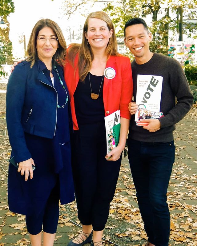 Sometimes you hang out with Naomi Klein at @onecityvancouver