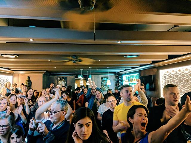 This is one of my favorite memories of the campaign when I got to introduce Councillor-Elect @christineeboyle. I didn't win but I certainly didn't lose with a crowd like this!