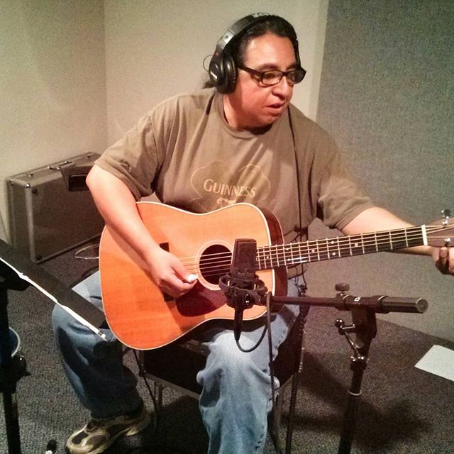 This is Ray Espinoza. Great guitarist who played on two of our tracks.