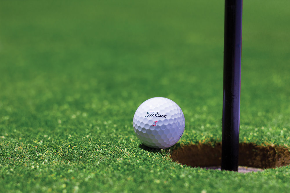 Hole-In-One Contest - $500 - (2 Available) Sponsorship includes logo and branding 10 ft Banner along tee box for $10,000 prize.  Also advertised on course marketing, in the dining room and all tournament social media outlets and website.