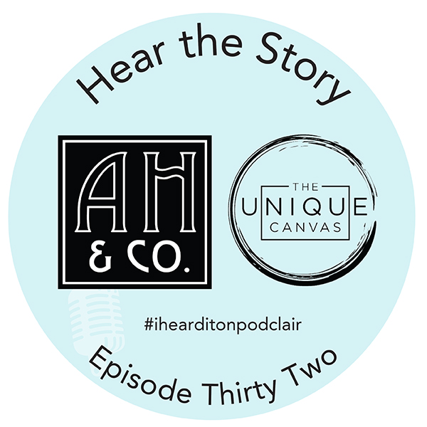 Podclair Episode 32 ArianaHoffman and The Unique Canvas