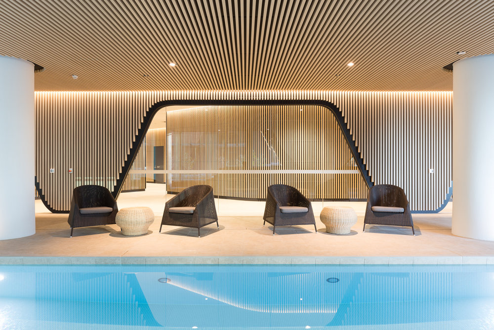 883 Collins St Multi-residential Pool Amenities - Melbourne VIC