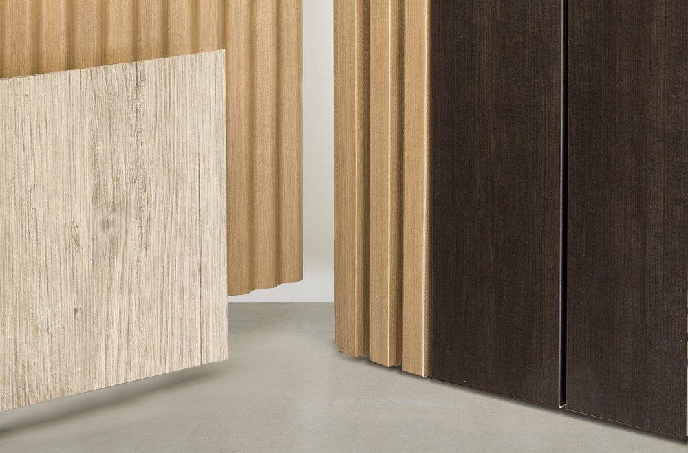 Covet Art Wood Panel Cladding