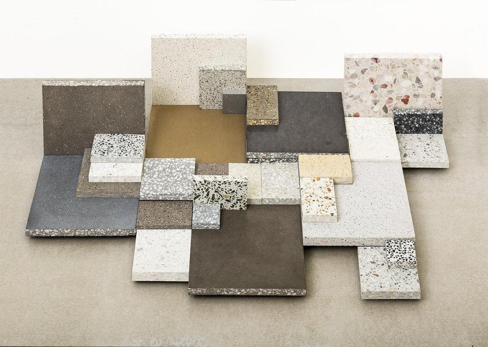 Concrete Tile, Concrete Overlay, Concrete Topping and Concrete Terrazzo