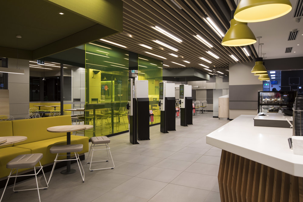 McDonalds internal & external fitout - Emerald Hill VIC