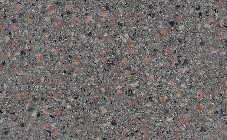 Fossil 3mm Burgundy Granite