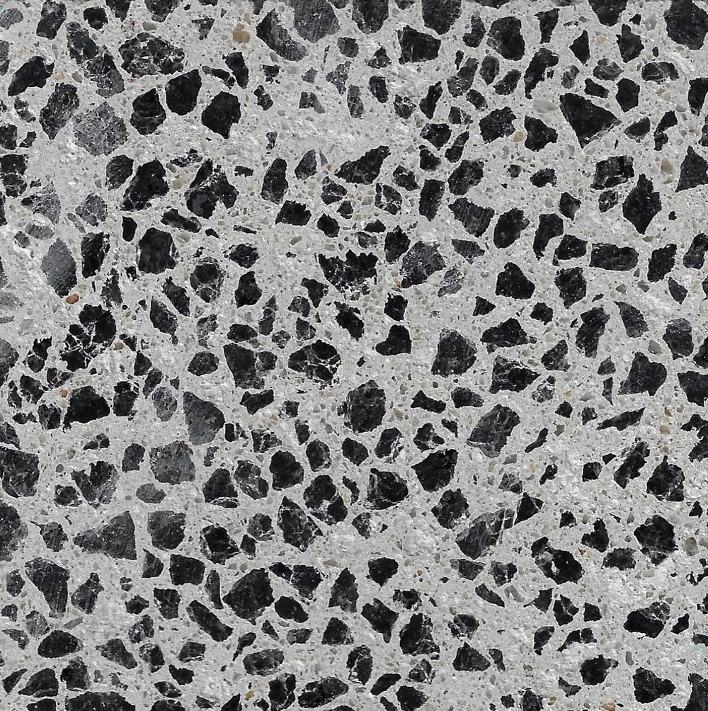 Alabaster 6mm Black Granite