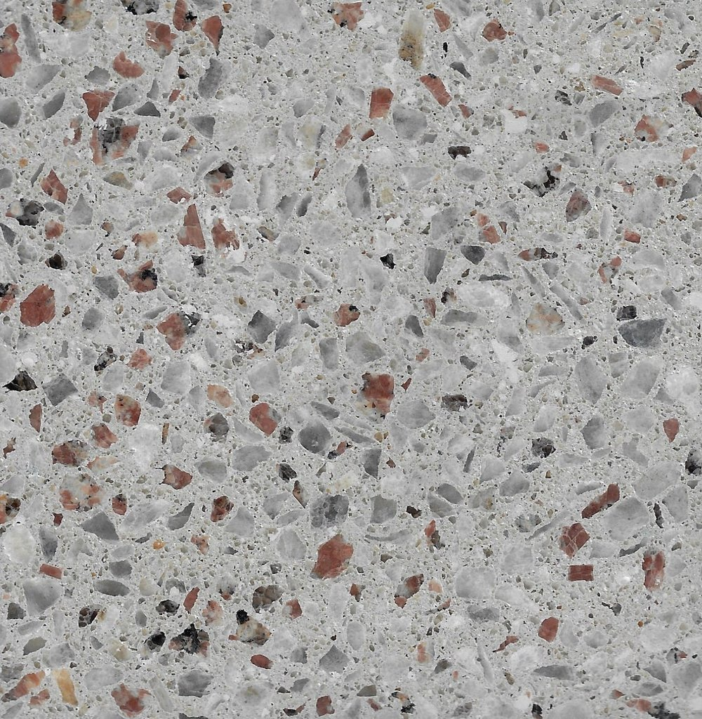 Alabaster 6mm Burgundy Granite & Koonunga Hill Dove Marble