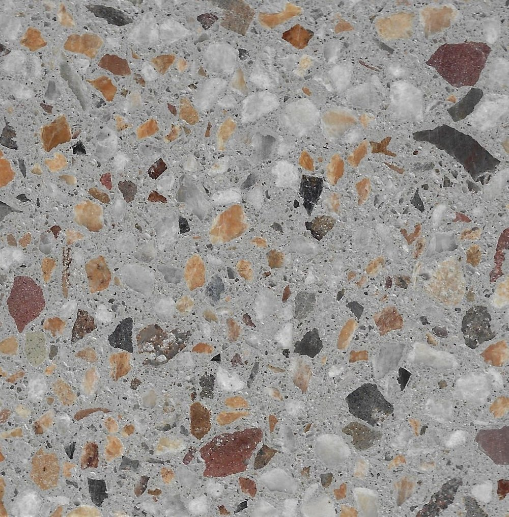 Pietra 10mm Crushed Stonefield & 6mm Cudgee Marble