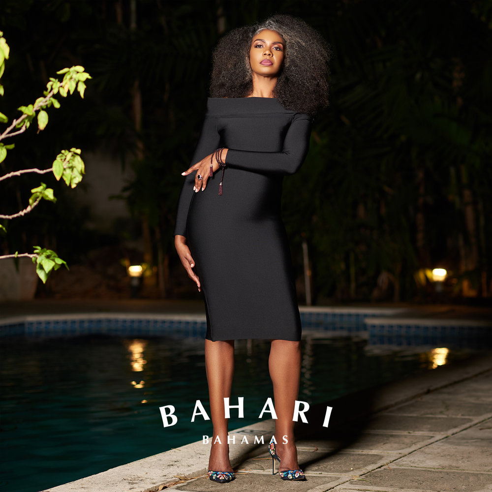 Bahari Bahamas Season 15 Campaign   Model:  Loleta  Photographer:  Scharad Lightbourne  Makeup:  GlamHer by Ge-Ah