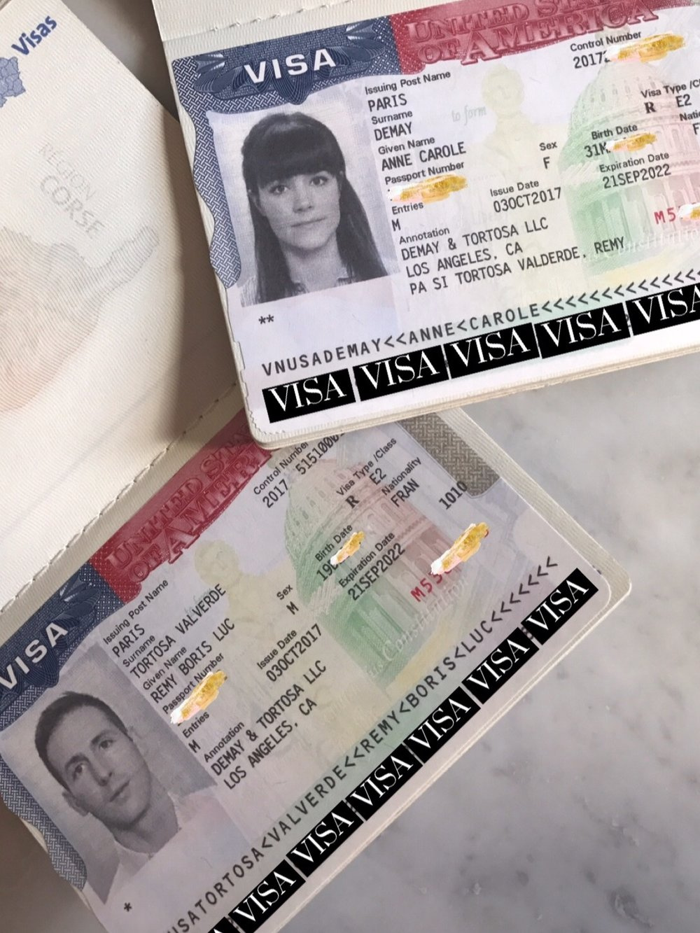 A Visa for a new life