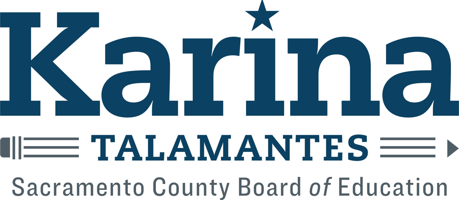 Karina for Sacramento County Board of Education