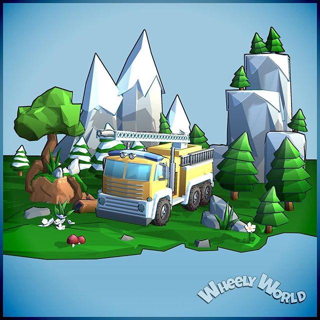 🌞🌲🌼💚 . . . . . #wheelyworld #cloudlandstudios #endlessroller #indie #indiegame #indiestudio #southaustralia #mobilegames #android #ios #indiedev #lowpoly #artofinstagram #gamersofinstagram #artistsoninstagram #gamer #unity #unitygames #diorama #monstermode