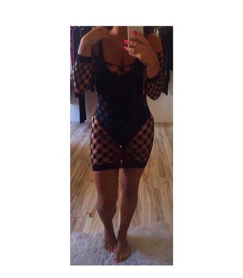 4828106624 Fishnet Cover Up Dresses — Amor Vida
