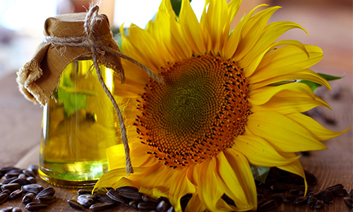 SUNFLOWER SEED - Sunflower seeds are rich in vitamins A, B, C and E. The seeds contain minerals - like iron, pottasium and calcium. It also has high levels of folate and Omega fatty acids.BENEFITS:Strong healthy hair. More shine and luster. Hair growth. Keeps hair soft and moist.Protects hair from ultra violet rays.