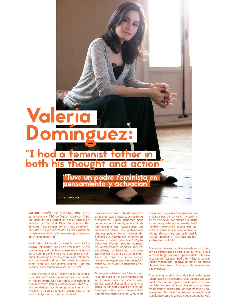 IE BUSINESS - Marzo 2017