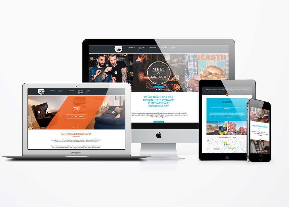 Murrays Mills Responsive website