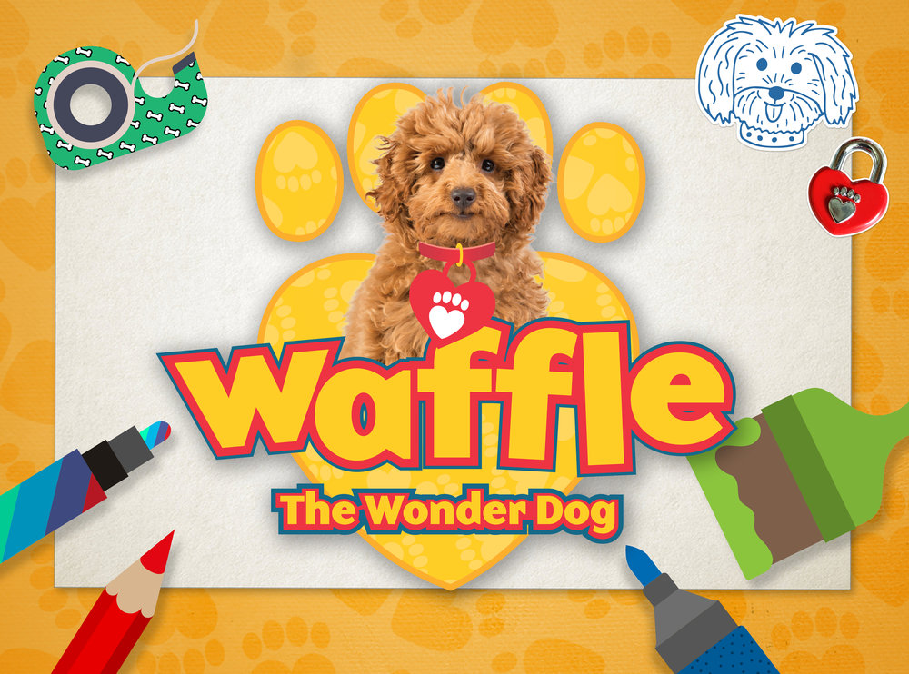 Waffle the wonder dog game for cbeebies