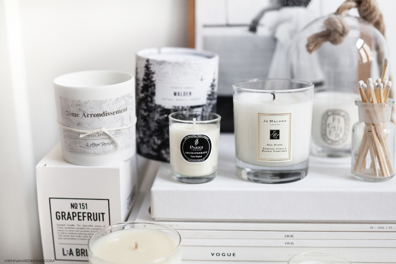 A collection of best candles, Source by  Vienna Wedekind