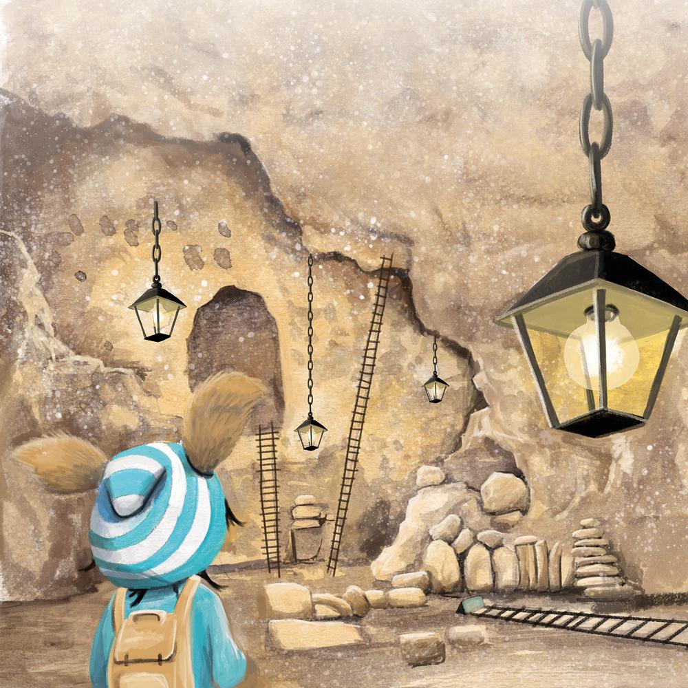 Dieses zeigt den kleinen Flohling in einem Salzbergwerk. Er ist auf der Suche nach seinem großen Talent.