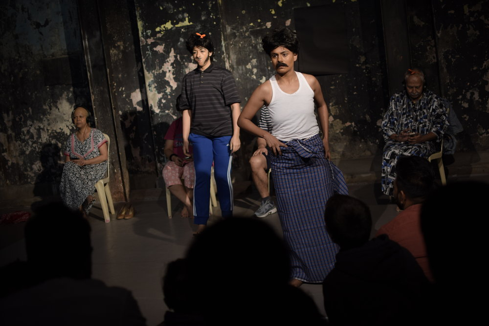 Mumbai 2017 - Outrageous! paid a quivering homage to all that is celebratory and inconsolable within us.- Nihaarika Negi, Outrageous! commissioned artist Mumbai 2017