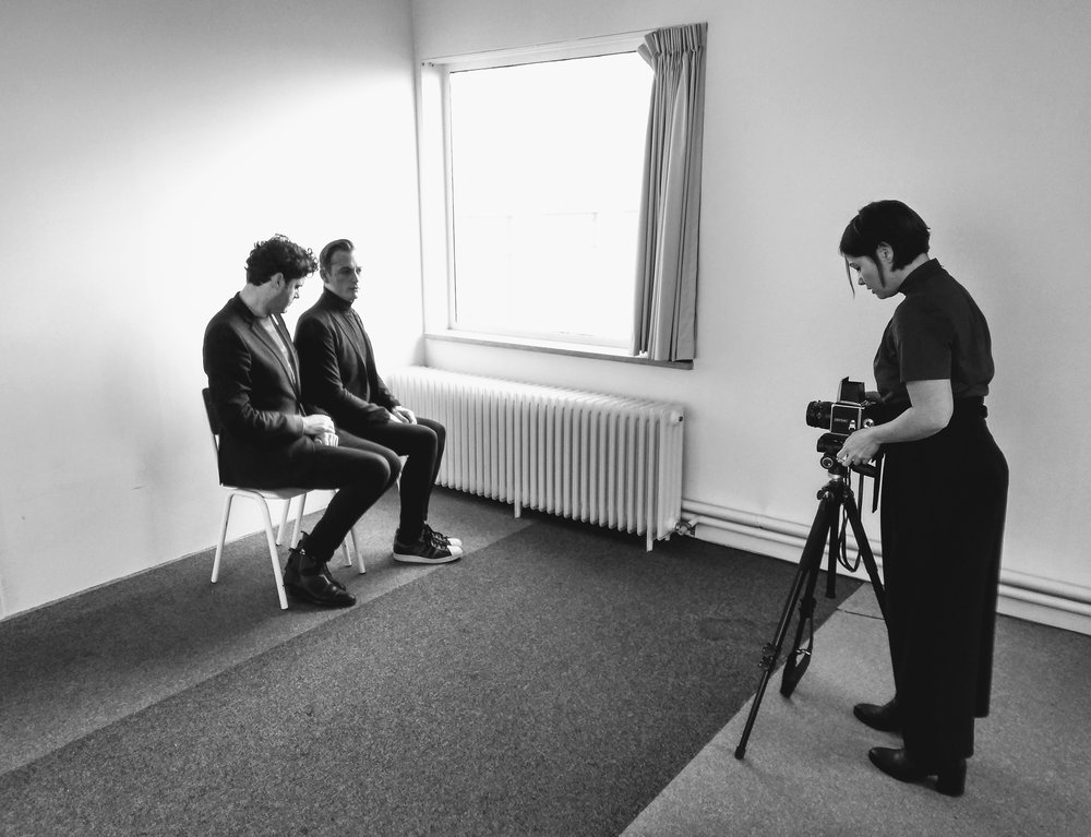 Behind the scenes, International Man's Day © Lauwer
