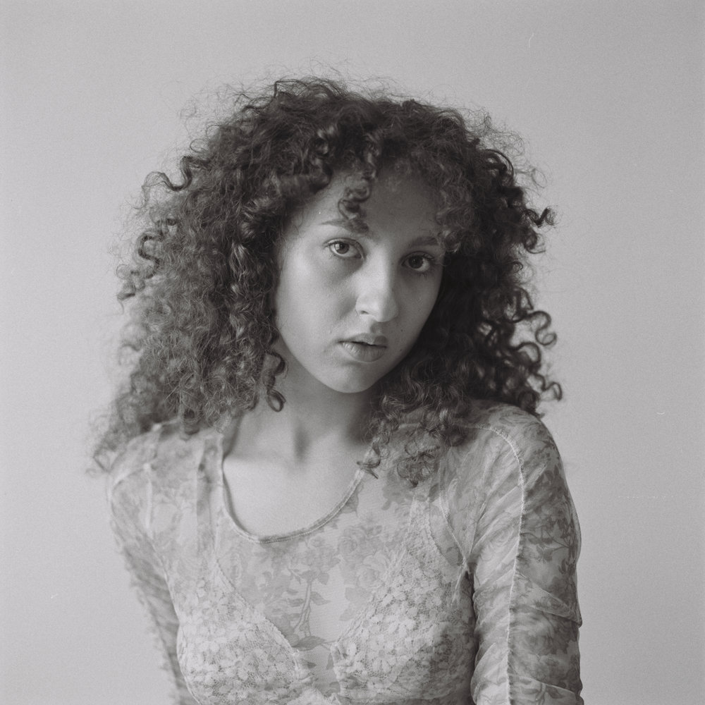 Portrait no. 2 - Laila Mubarak, Portrait no. 2, from the series For Who She Is, 2018gelatin silver print on PE paper, ed. 5 + 2 AP, 80 x 80 cm€ 2275,- incl. VAT, frame American walnut & art glass, certificate of authenticity