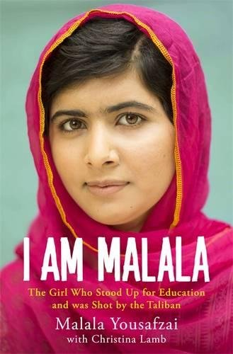 I Am Malala - Malala Yousafzai - Malala leapt into our lives after surviving an assassination attempt by the Taliban who had issued a death threat against her when she was just a child in response to her fight for education rights. She not only survived being shot in the head, but she has continued to speak out, across the world, about the importance of education. In 2013 she gave a speech to the United Nations and published this amazing book, the following year she became the youngest recipient of the Nobel Peace Prize.
