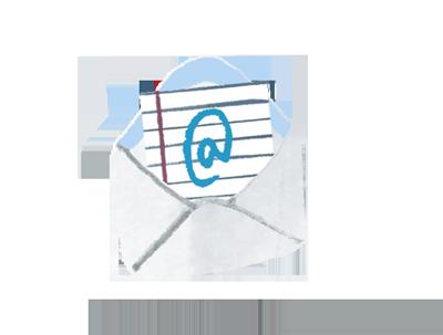 Email envelope image