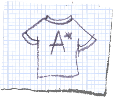 A-Star T shirt