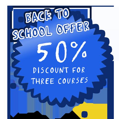 "Tassomai ""Back to School"" 50% discount offer"