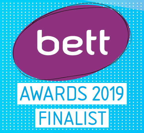Bett Awards 2019 Finalist badge