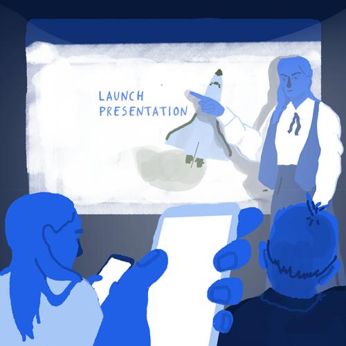 Launching Tassomai illustration