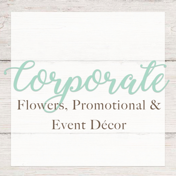 "floral arrangements, party & event décor - ""Do you want your event to have elegance and a touch of color? Take a look at our variety of options that are sure to fit the needs for any corporate or professional event!"""