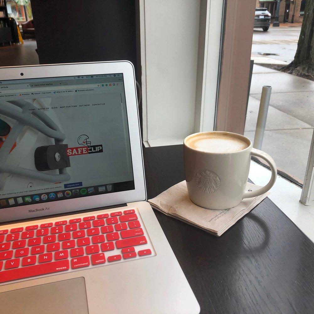Always ready to work! Always ready for caffein!!