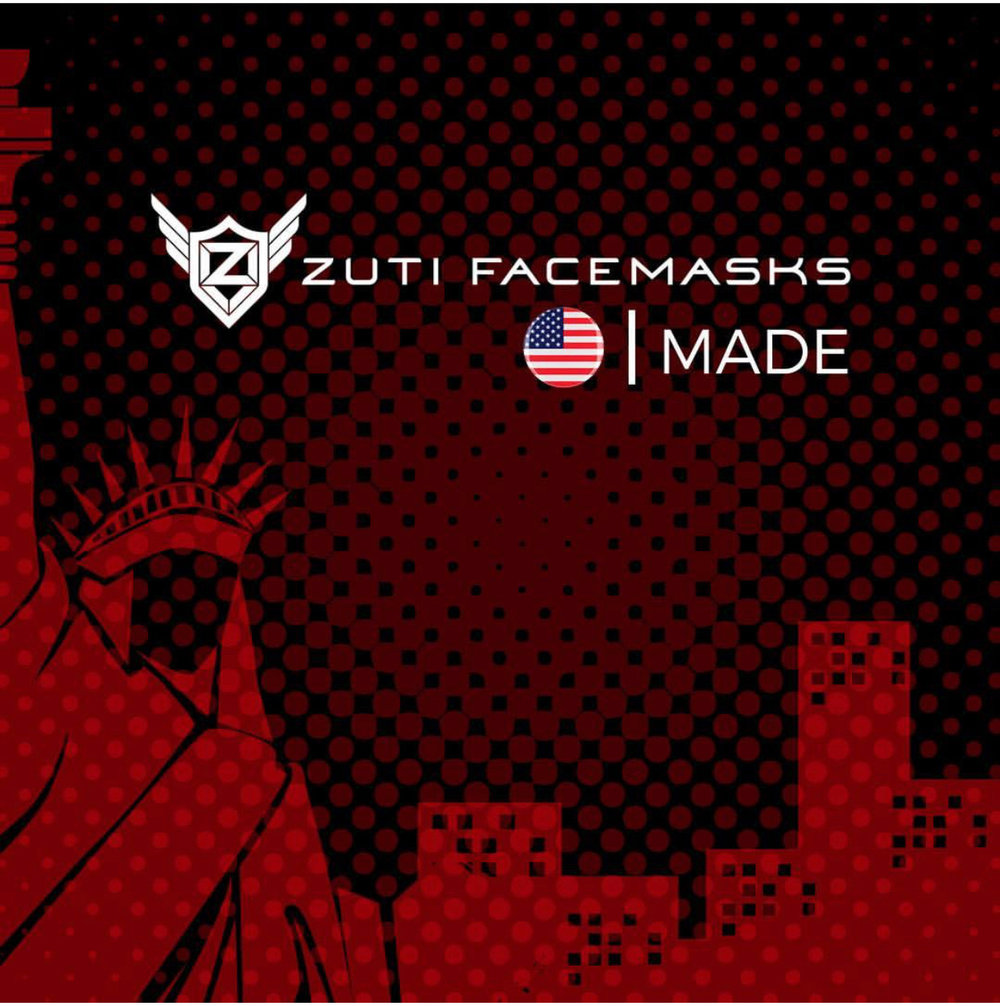 Zuti Facemasks are proudly made in Detroit, MI