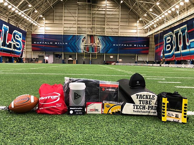 Excited to be a part of what @coach_stone_football is doing with the WNYAFA Coaches Academy Buffalo Bills Training Center! Check out this group of great products and sponsors.  #coachstonefootball #BacktotheBasics #saferfootball #safeclip #makethegamesafer 