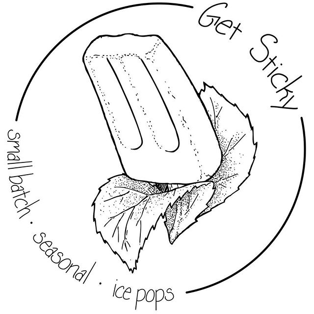 Hey world! I am very excited to put into the world a lil updated logo.  It's super special to me not only 'cause it's this gals personal handwriting, but my pop image also holds so much value to Get Sticky's mission & beliefs.  I wanted an image that would remind us the value of where our food (pops!) comes from. How much it means for us to know and create food with seasonality, our community, & our local economy in mind.  Thank you again to the one & only Collin Burns for creative brainstorming & producing such lovely, true images.  I do hope you all enjoy this new image as much as I do. Cheers to the season ahead!! All the love, Cassie  #smallbatch #midcoastmaine #knowyourfarmer #knowyourfood #realfood #tinybiz #poplife #summa2019 #herewego #upgrade #logologolife #sweeterthanpie