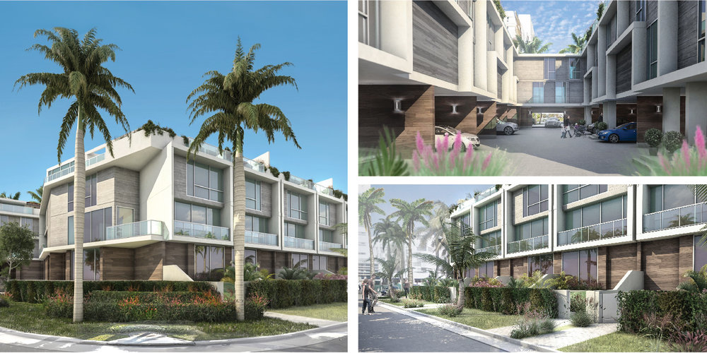 Only 14 Luxury Gated Town Homes - Just steps away from the shops at Balharbour