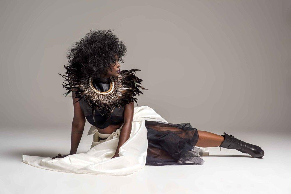 Photography: Art Thomas MUA: Lisa Rathglen Stylist: Claude Monthe