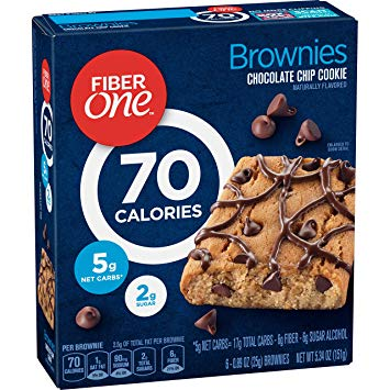 fiber one bars on keto diet