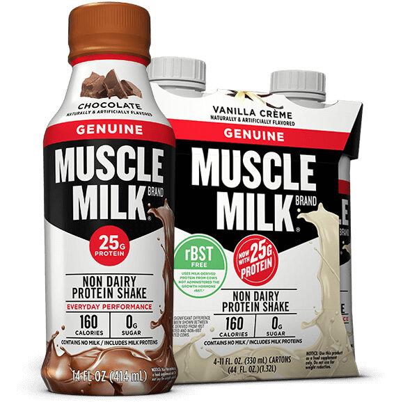 muscle milk low carb diet