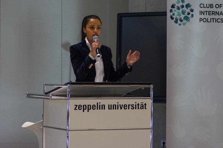Sawsan Chebli - Staatssekretärin für Internationales